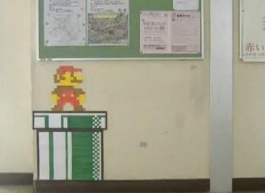 学校中をマリオが駆け回る! 文化祭で『ストップモーション スーパーマリオ』を作ってみた