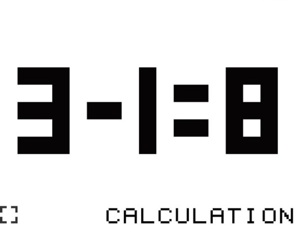 """3-1が""""8""""になる!? 【.】ドットをはめて答えを導く""""謎解きパズルゲー""""(無料)が単純なのにクセになる"""