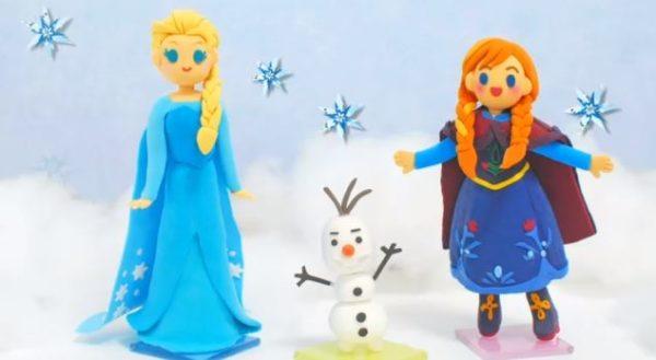 ストップモーション『アナと雪の女王』粘土で作ったフィギュアがかわいい!