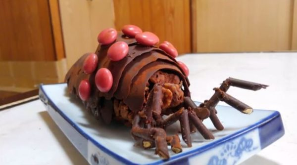 迫力満点で食べるにはちょっと怖い、怒れる王蟲のチョコレートを作ってみた