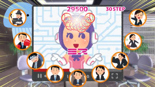 私と一緒にシュウカツライブしよ! アイドルの女の子や「いらすとや」のキャラがライブを盛り上げるアクションゲームが登場