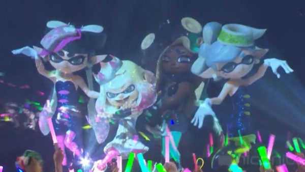 """『スプラトゥーン2』テンタクルズによる「ハイカライブ」がゲキ熱! 最高にイカした先輩ユニット""""シオカラーズ""""との夢のコラボも"""