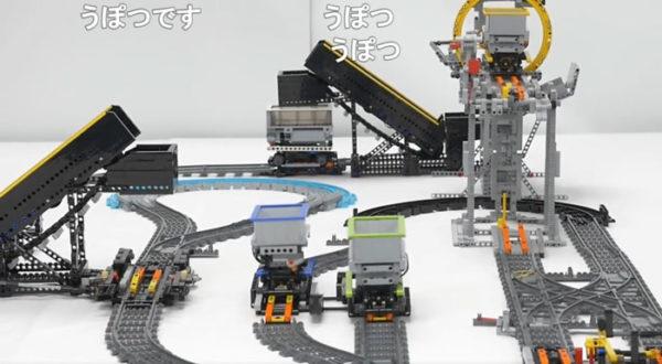 レゴ工場萌え!? 複雑なのに絶対にトロッコ同士がぶつからない線路構造。ずっと見ていられる謎の没入感に浸ろう