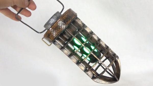 """『モンスターハンター:ワールド』""""導蟲の虫籠""""を作ってみた。暗闇でも光って実用度満点!"""
