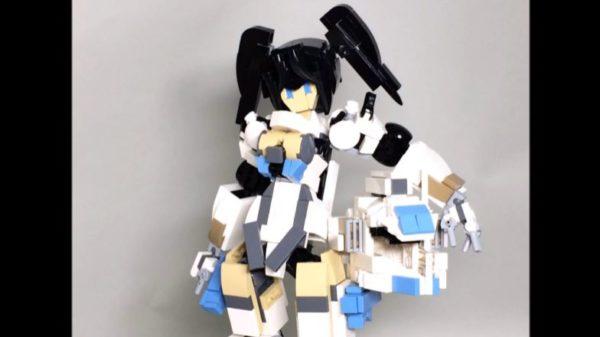 『FAガール』12種をレゴで装甲の脱着&組み換えが可能な状態で再現。発売前のモデルまで作ってしまう愛の深さに「まだ発売前ですやん」の声