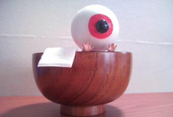 『ゲゲゲの鬼太郎』目玉おやじを作ってみた 茶碗風呂にも入れる防水仕様「おい鬼太郎 い~湯加減じゃのう!」