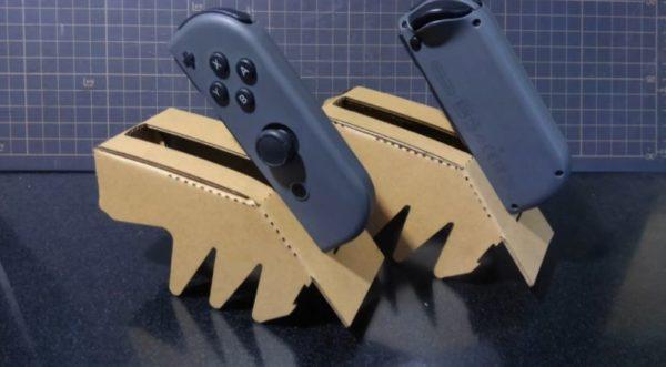 Nintendo Labo1台で対戦できるレースゲーム。セットされたジョイコンがドリフトを決める! カオスな操縦性に「チューニングがシビア過ぎ」