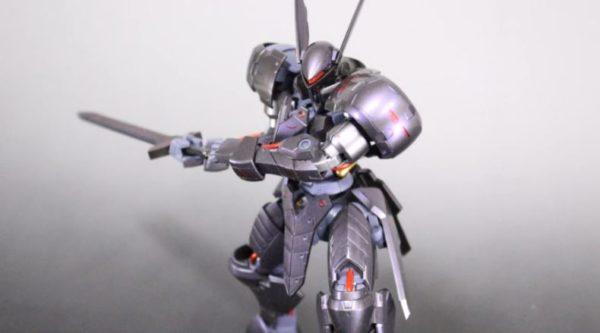 『鉄血のオルフェンズ』グリムゲルデをセイバーオルタ風に改造してみた 甲冑仕様へ加工された装甲に「カッコ良すぎ、美しい」
