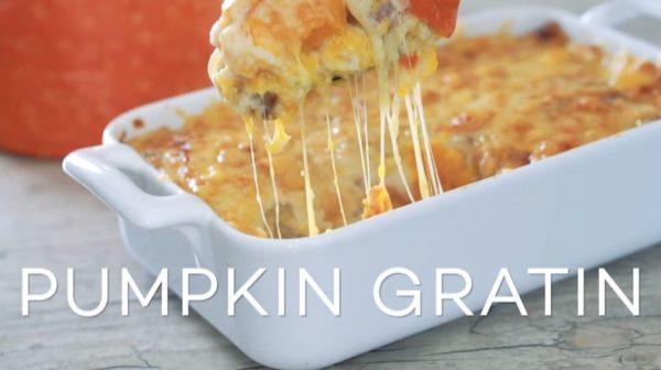 【秋の味覚】ホクホクかぼちゃとたっぷりチーズを味わう「かぼちゃグラタン」の作り方