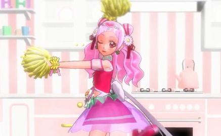 『HUGっと!プリキュア』キュアエールがフレ♪フレ♪ダンス! 「ハート・フォー・ユー!」な笑顔が可愛すぎ