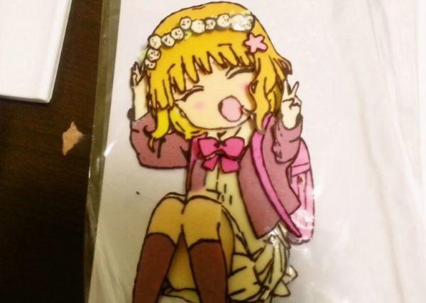 『ゆるゆり』櫻子のシャドーボックス風の痛チョコを作ってみた これは可愛い過ぎて食べられない!
