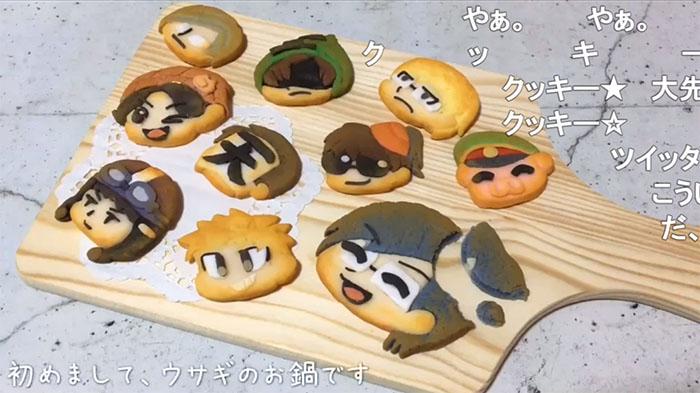 クッキーいいえ粘土です絵の具と粘土で作った食べられない