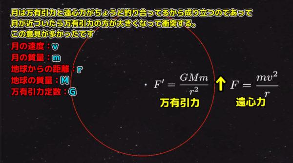 【物理エンジン】もしも月が地球に近かったらどうなるの? 数式を用いて詳しく解説「数学ってすげー」