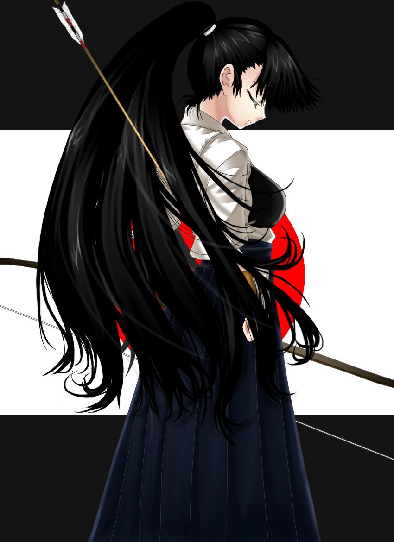 凛とした姿に心も射抜かれる 弓道女子のイラストまとめ18枚