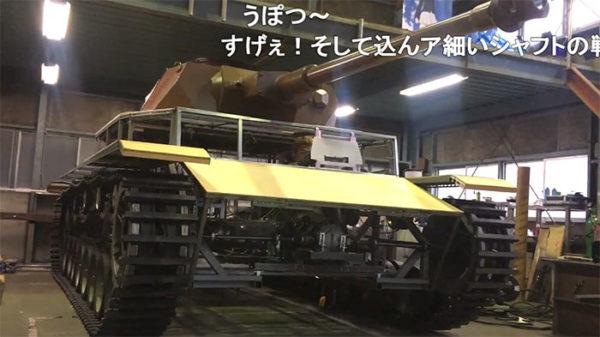 『ガルパン』おじさんの鑑すぎる。IV号戦車を1/1スケールで自作――しかもエンジンで自走するロマンあふれる仕様に