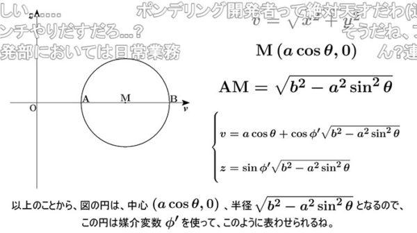 """『ポン・デ・リング』の形を数学的に解説する秀才降臨! """"8つのボールがドーナツ状になる方程式""""の説明がガチすぎて「わからないからチョコリング食べてる」の声も"""