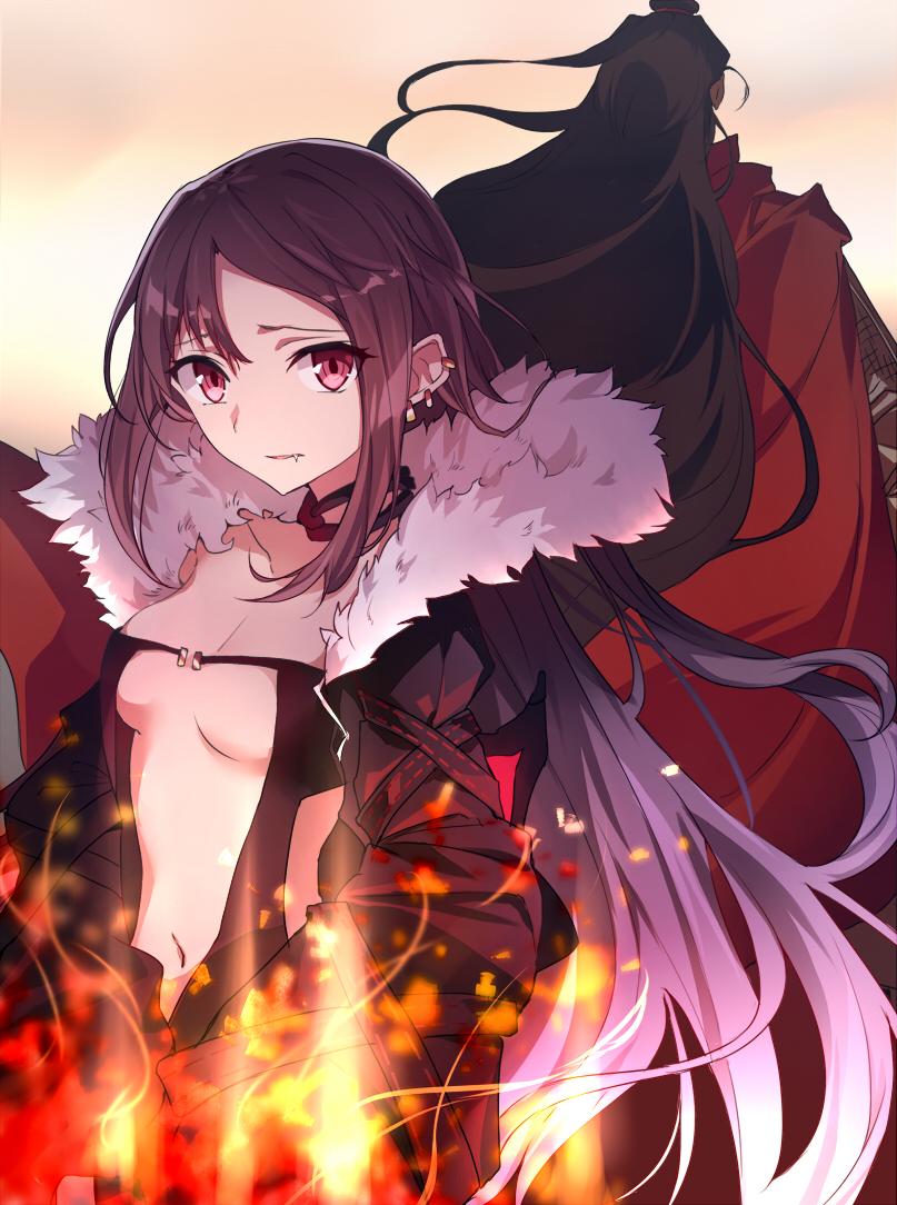 Fategrand Orderクールビューティな虞美人のイラスト集13枚
