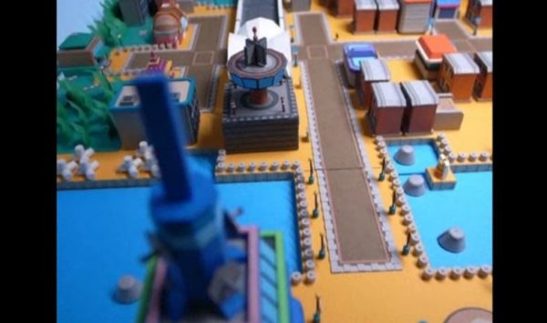 『ポケモン』コガネシティをペーパークラフトで作ってみた。小さくなって住みたくなる人続出の街並みをご堪能ください!