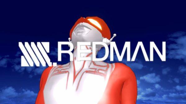 """『SSSS.GRIDMAN』OPを""""赤い通り魔""""『レッドマン』で作ってみた。怪獣でなくシン・ゴジラ、迫真のトラクターと再現とギャグの配分がたまらない展開に"""