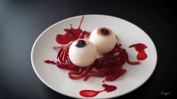 """新たなスイーツジャンル""""グロうまそう""""の兆し!? フランス在住料理人がガチで作った「目玉ゼリー」簡単レシピを大公開"""