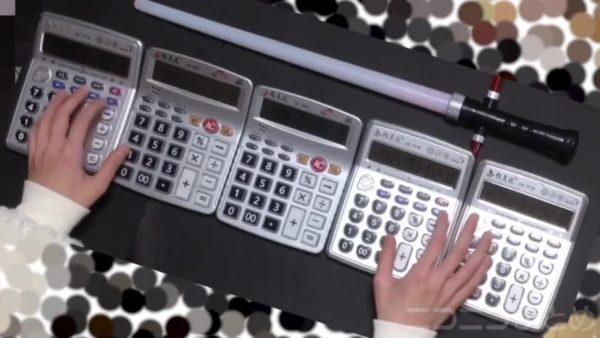 スター・ウォーズ『帝国のマーチ』を電卓で演奏する猛者あらわる。遊び心満載な電卓用の楽譜に「そういう道具じゃないから!」