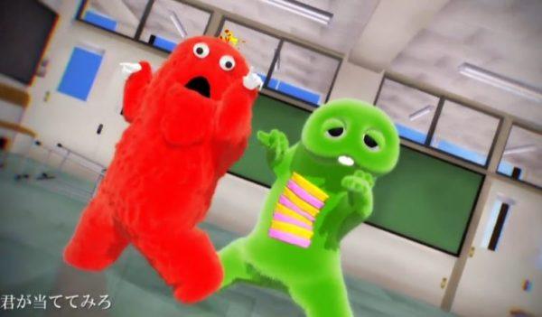 ガチャピンとムックが『疑心暗鬼』を踊ってみた! クリーチャー感のあるヌルヌルの動きで「深淵の扉が開いた…」