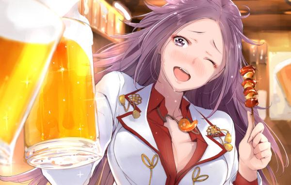 「一緒に一杯飲んでかない?」朝まで飲み明かしてくれるおねえさんのイラスト詰め合わせ