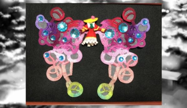 """20周年&コンシューマー移植決定記念に『エスプレイド』ガラ婦人作ってみた。""""立体刺繍""""で再現したその華やかさに当時の衝撃がよみがえる!"""