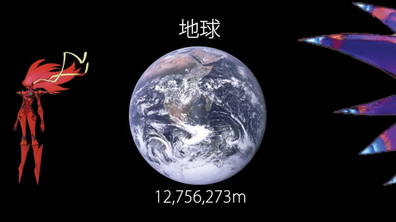 大きい 宇宙 より