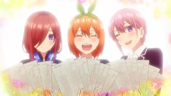 五つ子が美しい笑顔で100点満点獲得を報告!?  3分で振り返る『五等分の花嫁』第7話盛り上がったシーン