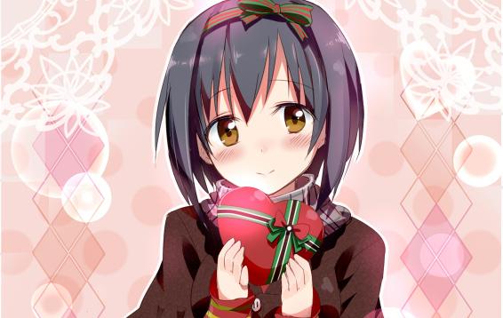 あなたに受け取ってほしい♡ 乙女心が詰まった「バレンタイン×女子」のイラスト集
