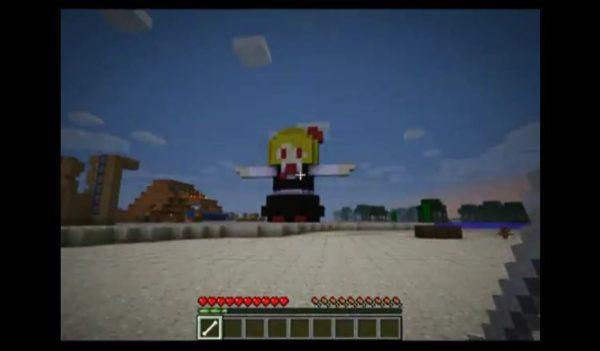 """まさかの手動! どこかシュールな""""Minecraftの""""『残酷な天使のテーゼ』の演奏に「無駄に洗練された無駄の無い動きだなw」"""