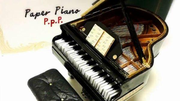 """実際に演奏できる! ディテールを追求した""""紙製""""グランドピアノが圧倒的なリアリティを持って完成"""