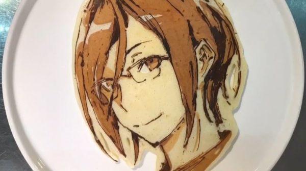 """『刀剣乱舞』パンケーキを焼いてみた!  """"絶妙の焼き加減""""で表現した刀剣男子の姿に「控えめに言って天才ですよね」「好き!!」"""