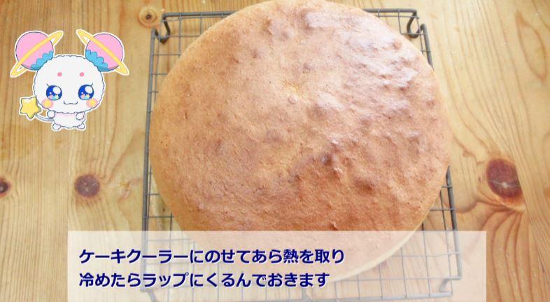 『スター☆トゥインクルプリキュア』第4話に登場した、フワのショートケーキを作ります。フワの絵はご自身で描いたものだそうです。上手い!