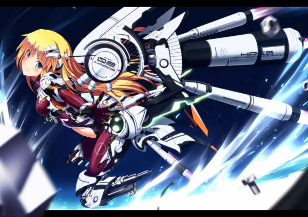 機械や兵器を身にまとった戦闘美少女はいかが? 宇宙で奮闘する『メカandメカ少女』のイラストまとめ