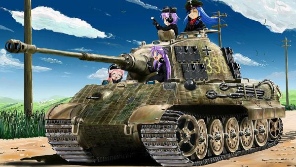 『戦車×女の子』イラスト11選 ディテールまでこだわった作品をご紹介