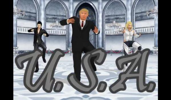 マジにUSAじゃねーか! トランプ大統領のMMDが踊る『U.S.A.』が「来日記念」「普通にかっこよくて草」と話題に
