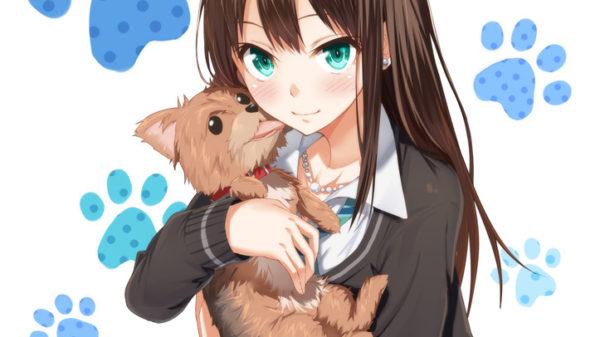 一緒に駆け回りたい! 『犬×女の子』のイラスト特集