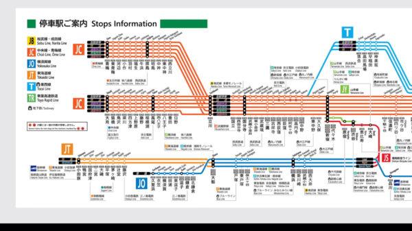 """東京のJR路線図を""""JR西日本風""""にアレンジ。細部まで描き替えられた路線図に「こっちのほうが好き」の声"""