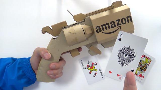 作り方 簡単 ダンボール 工作 銃