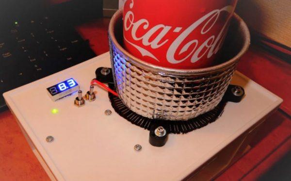 """いつでも最後まで冷た~いコーラが飲める! """"電子工作""""で冷却&加熱装置「カップクーラー」を作ってみた"""