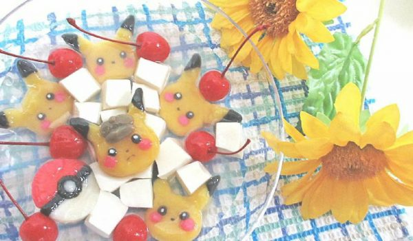 ピカチュウだらけのタピオカドリンク+白玉風スイーツを作ってみた! 夏にぴったりの組み合わせに「これは可愛い!」の声