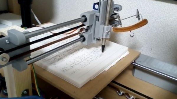 """「全自動手書きレポートマシン」を作ってみた! """"手書き文字のフォント""""まで作った熱意に「もう手で書いた方が早い」「ソフト配信して欲しい」の声"""