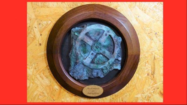 """古代ギリシアの遺物""""アンティキティラ島の機械""""を3Dプリントしてみた! 二千年分の腐食を再現した塗装技術がすばらしい"""