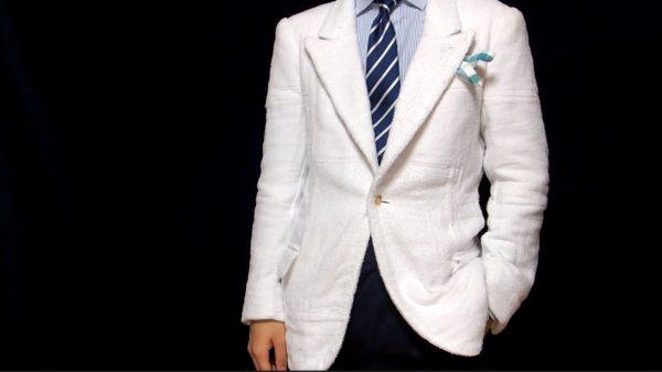 """雑巾でジャケットを作ってみた…? 謎の重厚感とフィット感を実現した""""技術の無駄遣い""""に思わず二度見"""