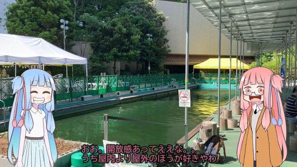 """品川で鯉釣り…だと⁉ 都会のド真ん中「品川フィッシングガーデン」では引きの重めな""""割とガチな釣り""""が楽しめるらしい"""