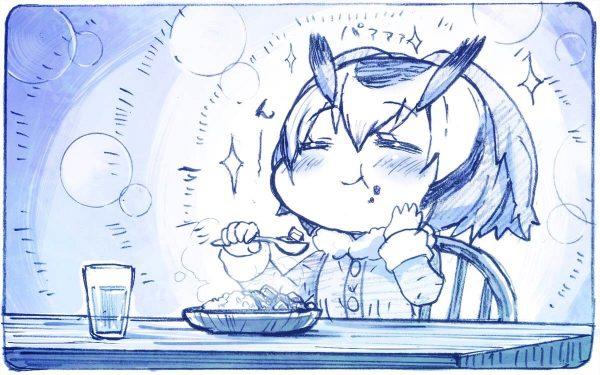 「メシの顔」女子のイラスト詰め合わせ 可愛い子が美味しそうに食べる姿って素敵ですよね!?