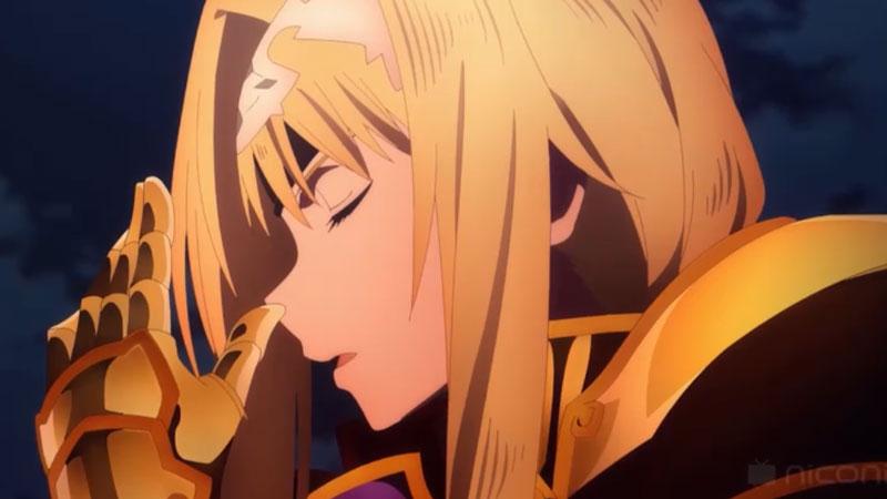 騎士アリスとしての再起の瞬間が鳥肌もの!『ソードアート・オンライン アリシゼーション War of Underworld』第2話盛り上がったシーン