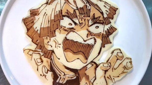 """""""推し""""を焼いたパンケーキ! 『鬼滅の刃』『シンカリオン』『BANANA FISH』など異なる絵柄を描き分けた作品に「うっまー!」の声"""